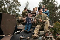 Royal Australian Navy personnel in coastal mine hunter HMAS Yarra used their dive expertise to recover an anchor and shackles weighing one tonne from the seabed near Ashmore Island recently. The anchor, belonging to Armidale class patrol boat HMAS Bundaberg, was cut lose when it firmly wedged beneath a large boulder and the sea floor during an Operation Resolute patrol. HMAS Yarra, was also assigned to the Joint Task Force 639 for the conduct of civil maritime security operations as part of Operation Resolute at the time of the anchor's recovery on 23 June 2014.