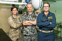 Army Signaller Garett Freeman is responsible for server maintenance and ensuring email and computer systems are running efficiently for Australian Defence Force personnel at Kandahar Air Field, Afghanistan.