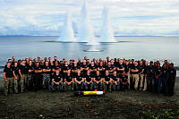 Group photo of Explosive Ordnance Disposal (EOD) teams from Combined Joint Task Force (CJTF) 663 in Honiara, Solomon Islands.