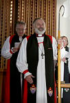 Right Reverend Ian Keese Lambert is commissioned as the Anglican Bishop to the Australian Defence Force.