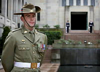 27 year-old Private Kevin Bertram, from Adelaide will travel to Korea with Australia's Federation Guard to mark the 60th anniversary of the armistice.