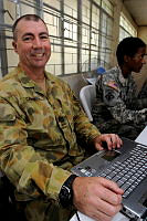 Shane Campbell - Australian Army takes a piece of Busselton to the Philippines