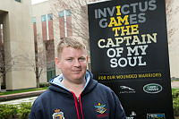 Sapper Matthew Taxis joined the Australian Army as a combat engineer in 2009 and was posted to the 2nd Combat Engineer Regiment at Gallipoli Barracks in Brisbane. At the Invictus Games 25 year-old Matthew intends to support the other Australian competitors while competing to the best of his sporting ability. He injured his back during pre-deployment training in 2011 and is in the process of corps transferring to the Royal Australian Electrical and Mechanical Engineers. When asked about his previous sporting highlights, Matthew said he scored a strike while ten-pin bowling once. During the Invictus Games he will be competing in the shot-put, archery, wheelchair basketball, wheelchair rugby and the driving challenge.