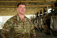 Captain David Bowden is an Operations Officer based at Camp Qargha outside Kabul, Afghanistan.