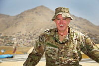 Major Andrew Patterson is a senior mentor at the Afghan National Army Officer Academy outside Kabul, Afghanistan.