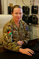 Colonel Susan Coyle is the Deputy Commander Joint Task Force 636 currently deployed to Afghanistan.