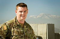 Signaller Joel Groat is currently deployed as the Information Systems Administrator at Camp Qargha outside Kabul, Afghanistan.