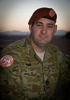 Australian Army Warrant Officer Craig Webb is currently deployed to the Sinai, Egypt on operation Mazurka.