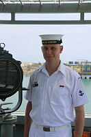 Leading Seaman Richard Hankinson is a member of the ships company onboard HMAS Sirius which is currently deployed on Indo-Pacific Endeavour.