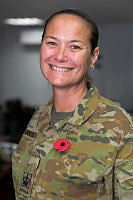 Australian Army Warrant Officer Class Two Kim Booth is deployed to the Middle East as part of Combined Joint Task Force – Operation Inherent Resolve.