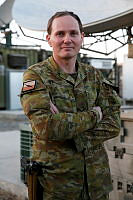 Australian Army soldier Lance Corporal Chris Perry is a telecommunications technician deployed to Kabul, Afghanistan.