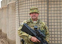 Warrant Officer Class Two Jason Nuske is the Operations Warrant Officer with Task Group Taji's Training Task Unit at Taji Military Complex, Iraq.