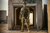 Australian Army soldier, Private Thomas Reid is deployed as part of the Force Protection element on Task Group Taji-7 in Iraq, tasked with ensuring the safety of Coalition forces at Taji Military Complex.
