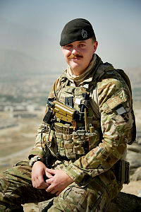 Lance Corporal Eamon Hale is deployed to Camp Qargha outside of Kabul, Afghanistan.