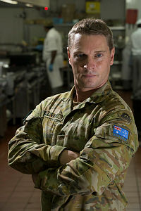 Australian Army Chef Supervisor Corporal Luke Gulliver, from 10 Force Support Battalion, is part of rotation 113 Rifle Company at Royal Malaysian Air Force Base Butterworth, Malaysia.