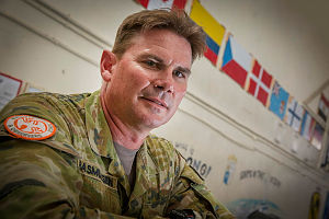 Australian Army officer, Major Jay Rasmussen is deployed to the Sinai, Egypt on Operation Mazurka.