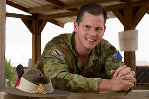 Australian Army Officer Captain Eugene Sullivan is a Personnel Principle Staff Officer with Task Group Taji-6 at Taji Military Complex, Iraq.